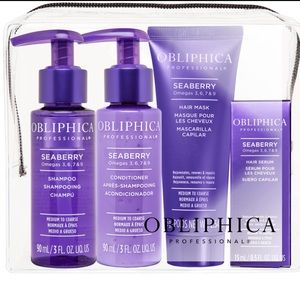 Obliphica Seaberry Travel Kit (no hair mask)